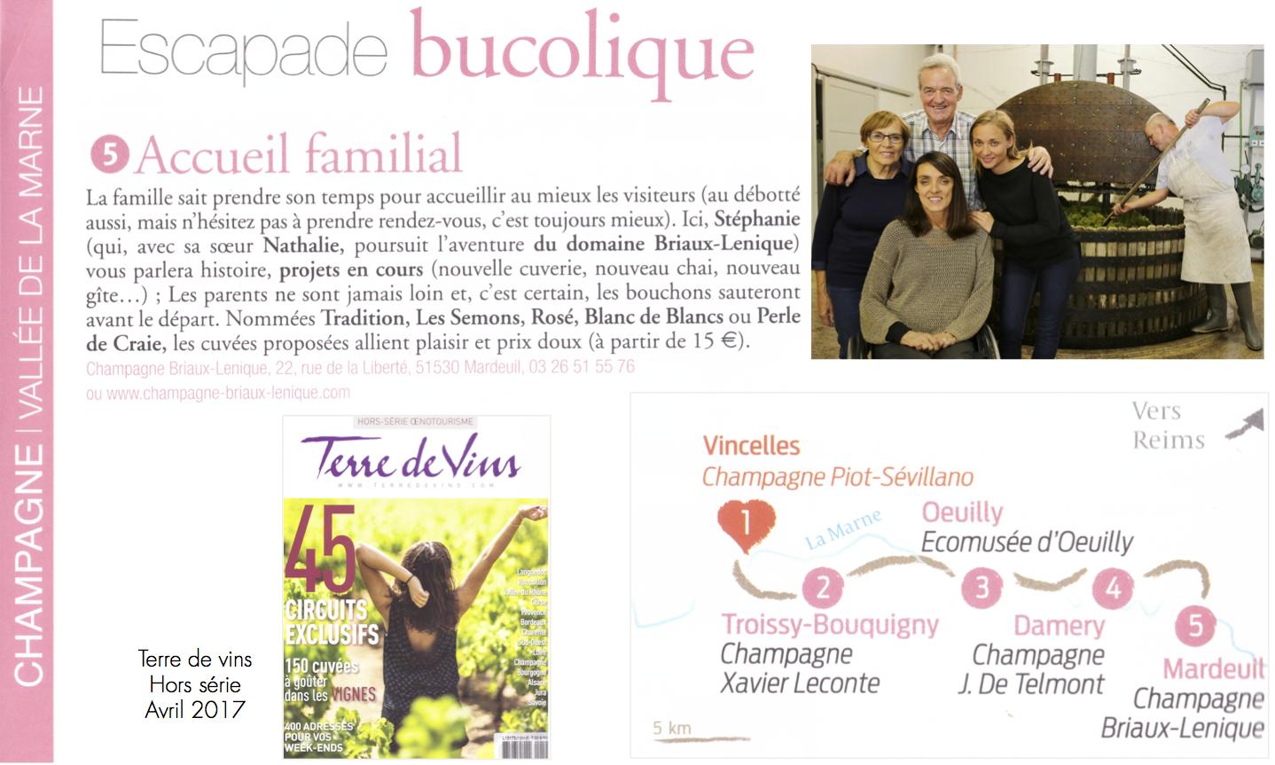 Champagne briaux lenique for Revue de www houseplans com